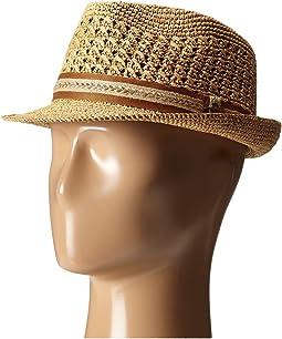 233799c9f Tommy bahama vent crochet raffia fedora + FREE SHIPPING | Zappos.com