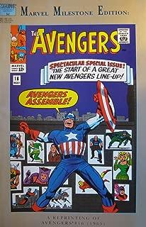 MARVEL MILESTONE EDITION: AVENGERS, (A REPRINTING OF AVENGERS #16 1965), #16, October 1993 (Volume 1)