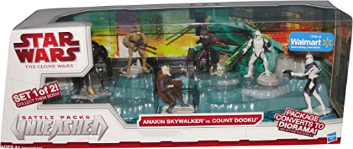 Star Wars Battle pack unleased (Set 1 of 2). Anakin Skywalker vs. Count Dooku