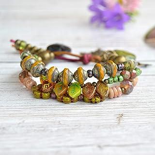 Multicolor perline bracciale donna, Gioielli da regalare