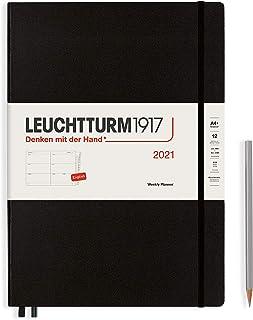 LEUCHTTURM1917 ロイヒトトゥルム 手帳 2021年 1月始まり A4 ウィークリー ブラック 361990