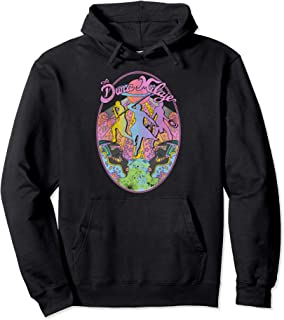 Dora Milaje Retro Geometric Colorful Graphic Hoodie