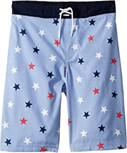 Janie and Jack Seaside Swim Trunks (Toddler/Little Kids/Big Kids)
