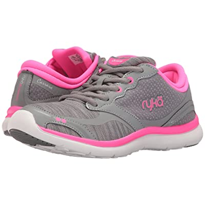 Ryka Carrara (Summer Grey/Frost Grey/Neon Flamingo) Women