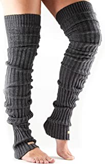 Women's Thigh High Ribbed Knit Warmers Dance and Fashion for Dance, Yoga, and Fashion