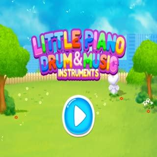 Little Piano Drum & Music Instruments