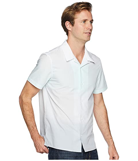 Online Store Calvin Klein Short Sleeve Ombre Camp Shirt Light Jade Outlet Manchester Discount Latest Collections Many Colors JRc2D6E