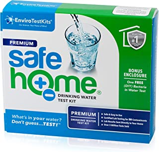 Safe Home PREMIUM Water Quality Test Kit – Testing for 50 Different Parameters – Comprehensive Analysis of City Water or W...