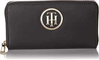 AW0AW03112 - Billetera de Cuero Mujer, color Negro, talla 20x11x3 cm (B x H x T)