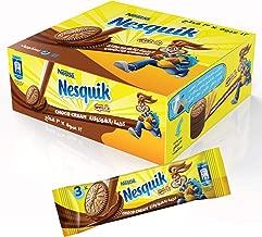 Nesquik Biscuits Chocolate Milk Cream, 28 gm (Pack of 12)