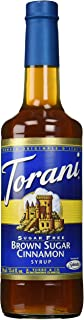 Torani Brown Sugar Cinnamon Syrup Sugar Free 25.4 Fl Oz (Pack of 1)
