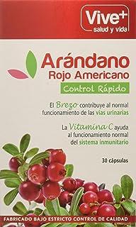 Vive+ Arándano Rojo con Brezo y Vitamina C - 30 Cápsulas