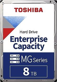 Toshiba MG Series Enterprise 8TB 3.5'' SATA 6Gbit/s Internal HDD 7200RPM 550TB/year 24/7 Operation. MG05ACA800E