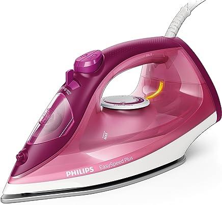 Philips EasySpeed Adv GC2146/40 - Plancha Ropa Vapor, 2100 W, Golpe Vapor 110 g, Vapor Continuo 30 g, Suela Ceramica, Antical Integrado
