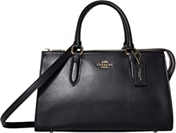 코치 가방 송아지가죽 본드백 COACH Refined Calf Leather Bond Bag,GD/Black