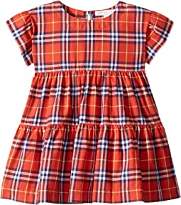 Alima Check Dress (Infant/Toddler)