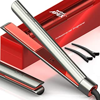 Bekind Apex 2-in-1 Hair Straightener Flat Iron, Straightener and Curler for All Hairstyles, 15s Fast Heating, Temperature ...