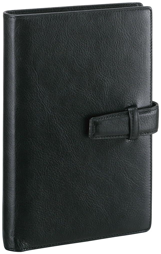 地味なライオン通常レイメイ藤井 システム手帳 ダヴィンチ スタンダード 聖書 ブラック DB3006B