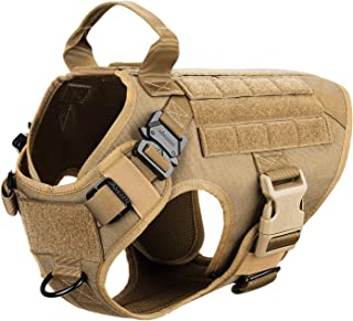 service dog leather mobility harness