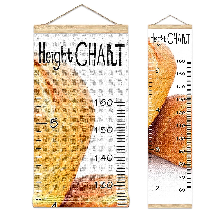 Growth Choice Chart Kid's Height Hangin Bread Elegant Banner