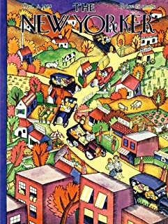 New York Puzzle Company - New Yorker Autumn Excursion - 1000 Piece Jigsaw Puzzle