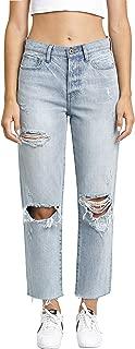 Pistola Women's Charlie High-Rise Straight Leg Jeans