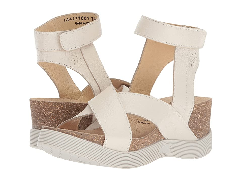 FLY LONDON WEEL177FLY (Off-White Mousse) Women