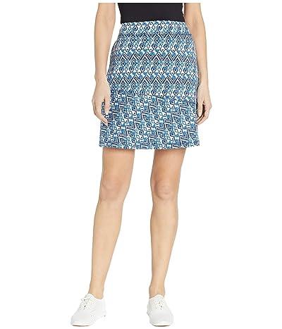 Aventura Clothing Zoya Skirt (Navy Peony) Women