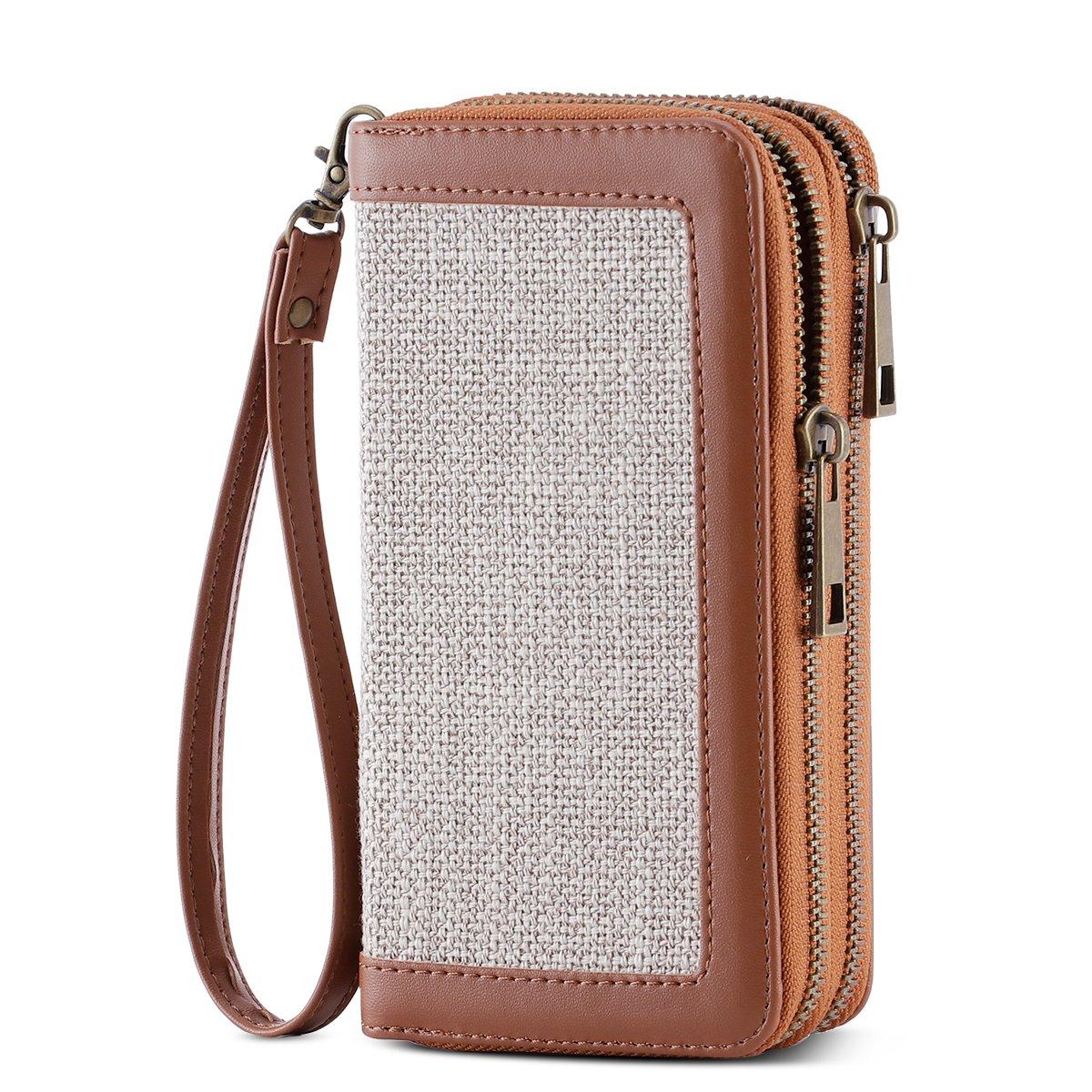 HAWEE Cellphone Wallet Wristlet Leather