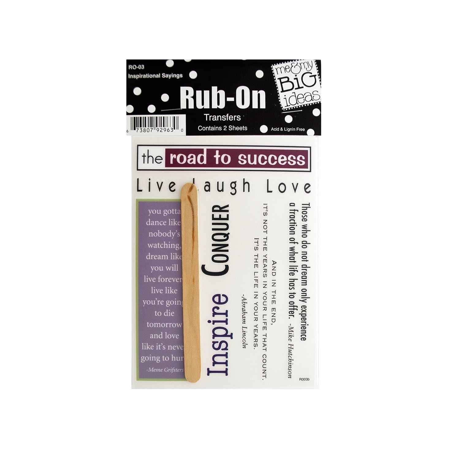 bulk buys Inspirational Sayings Rub-On Transfers, Black/White/Green/Blue/Purple/Burgundy jhqei869393