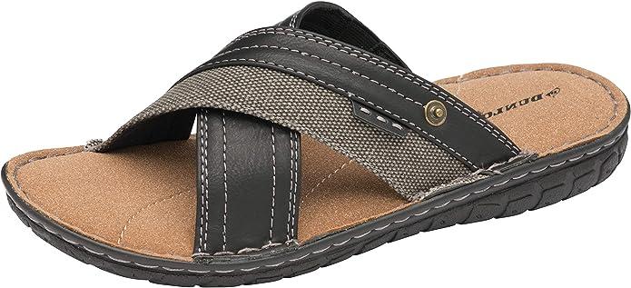 40 Dunlop Sandales /à Enfiler pour Homme en Mousse /à m/émoire de Forme pour la Plage et la Piscine Tailles 36