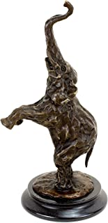 Amazing Animal Bronze - Indian Elephant - after Rembrandt Bugatti