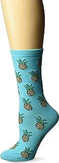 K. Bell Women's Food & Drink Novelty Casual Crew Socks