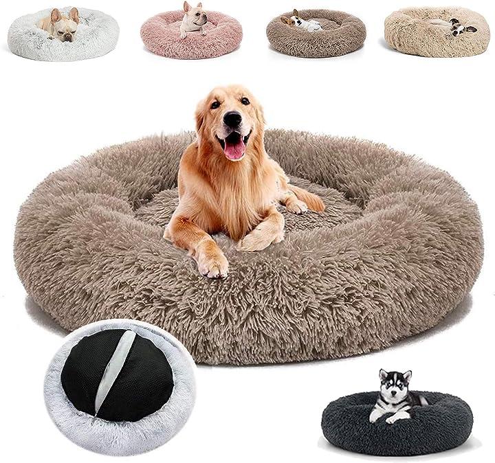 Cesta per cani/gatti jrui calda e morbida lavabile in lavatrice 1036583054849