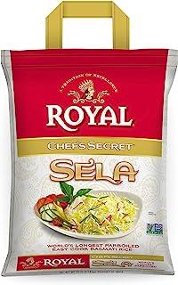 Royal Chef's Secret Parboiled Sella Extra Long Basmati Rice, 10 Pound