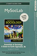 NEW MySocLab with Pearson eText Student Access Code Card for Sociology, The Essentials (standalone) (9th Edition)