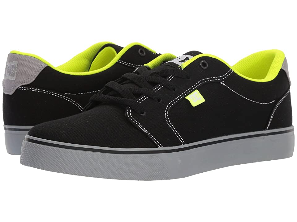 DC Anvil TX (Black/Black/Soft Lime) Men
