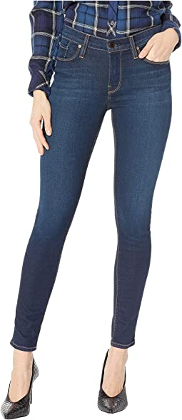 Nico Mid-Rise Ankle Skinny Jeans in Get Free