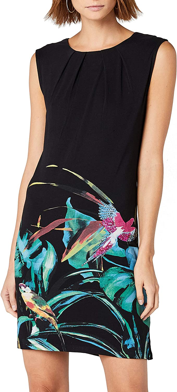 Desigual Womens Calypso Sleeveless Dress Casual Dress