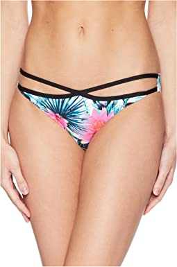 Palms Away Luxe Hipster Bikini Bottom