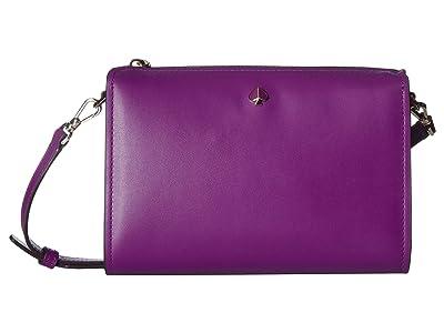 Kate Spade New York Andi Medium Crossbody (Perfect Pansy) Handbags
