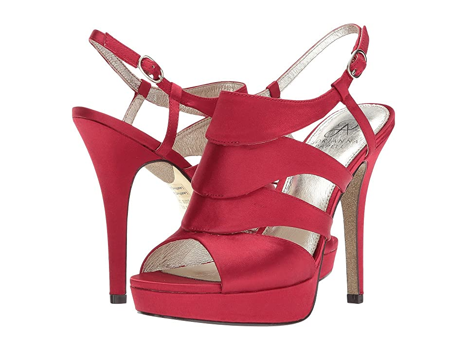 Adrianna Papell Marlene (Red Classic Satin) Women