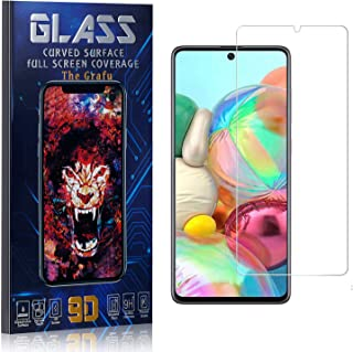 The Grafu Screen Protector for Galaxy Note 10 Lite, Tempered Glass, High Transparency Screen Protector for Samsung Galaxy Note 10 Lite, Bubble Free, Easy Installation, 1 Pack