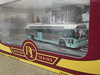 Rapido LAMTA Los Angeles Ho Scale 1:87 Scale Fishbowl Bus