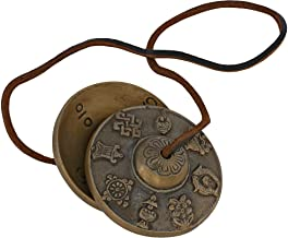 Buddhist Chime Tibetan Cymbal Bell Musical Instrument 2.5 Inch