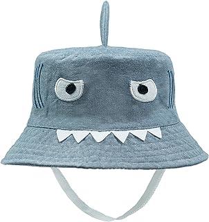 ERISO Baby Toddler Kids Breathable Sun Hat Animal Bucket, Stay-On
