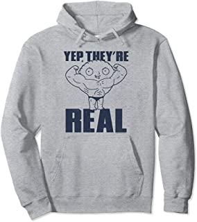 Family Guy Stewie They're Real Pullover Hoodie