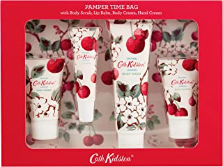 Cath Kidston Mini Cherry Sprig Pamper Time Bag, 4 count