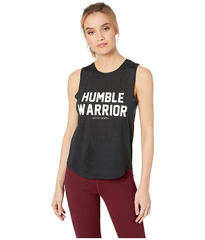 Spiritual Gangster Active Muscle Tank (Black) Women