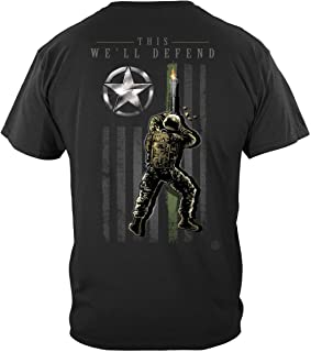 Erazor Bits Army Army Patriotic Flag T-Shirt MM2446
